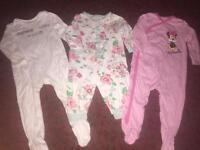 Baby girls pyjamas 12-18 months