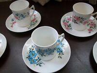 China tea sets. £15 each.