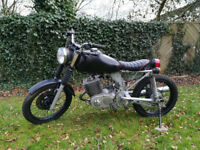 1982 MZ ETZ 250 - Unfinished Brat/Cafe-racer/Flat Tracker Project