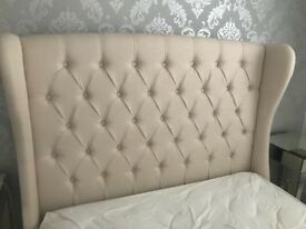 DREAMS Atherton winged double bed frame