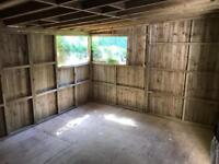 Large shed for sale with window