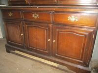 Large Wooden display cabinet - ONO