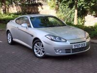 AA WARRANTY!!! 2007 HYUNDAI COUPE 1.6 SIII S 3dr, HALF LEATHER, 1 YEAR MOT