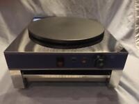 Single plate Crape Maker Pancake Machine Commercial electric 40cm diameter