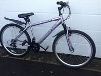 Ladies 26inch wheel bike, excellent condition hardly used