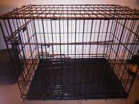 2 Medium sized dog crates / cages