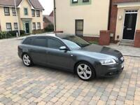 Audi A6 sline estate 2.7 diesel reg 2005