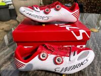 Specialized s-works road cycle shoes, used for sale  Sketty, Swansea