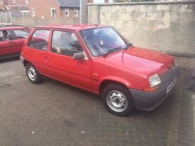 Renault 5 - MOT - Running well