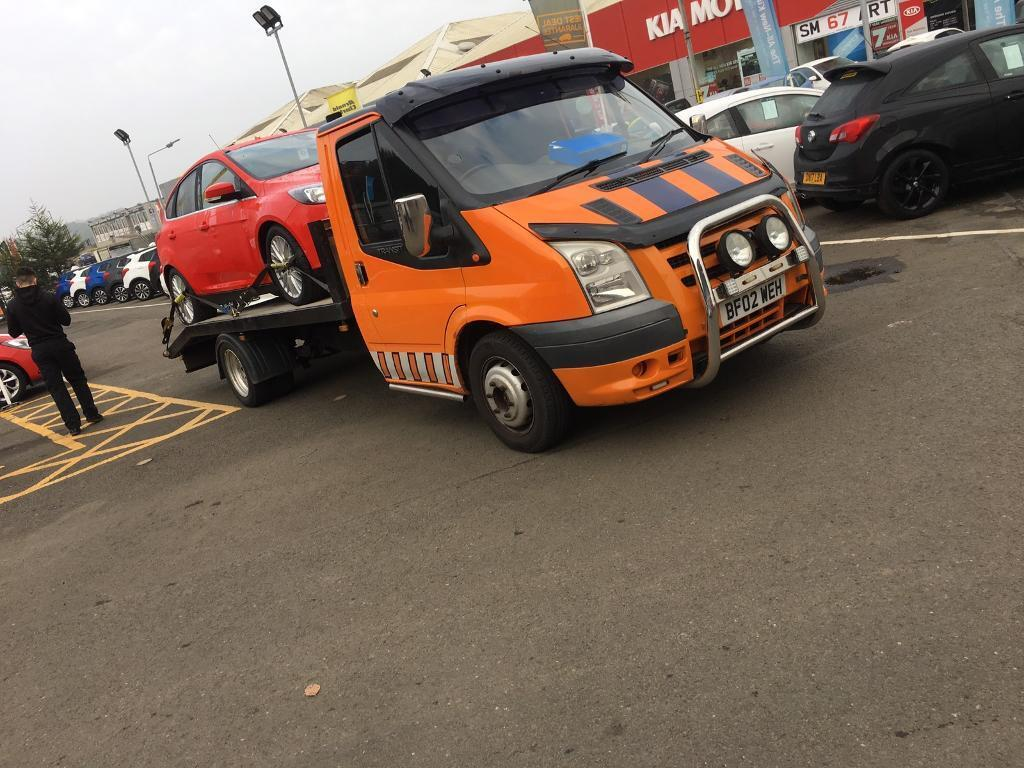 Ford Transit LWB Recovery Truck 2002 MK7 Conversion