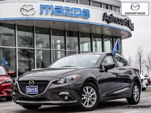 2015 Mazda Mazda3 GS-Sunroof, Heated Seats, Bluetooth, Push Star