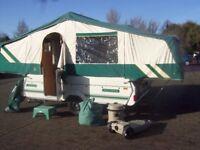trailer tent folding camper