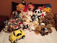All BRAND NEW! Bundle of about 35 soft toys