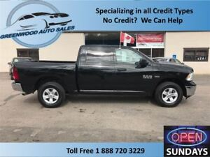 2015 Ram 1500 4X4 CREW GOOD KM'S (91364KMS) & PRICED TO SELL