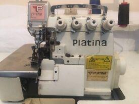 Platini 5 Thread Sewing Machine