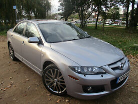 2006 55 MAZDA 6 MPS 260 BHP *FULL MAZDA S.H* *NEW TURBO & CHAIN* 2.3 T ford focus st Subaru impreza
