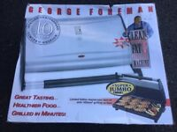 George Foreman Super Jumbo Grill - Unopened and never used. Perfect for indoor BBQ!