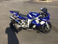 Yamaha R6 Blue 2002 £2500 ONO