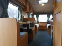 Avondale Mayfair 6 berth with awning fixed bunks