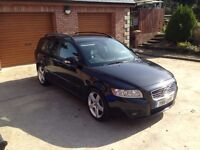 2011 Volvo V50 Sport estate SE 1.6D £0 tax, parking sensors, keyless entry/start, Excellent MPG, FSH
