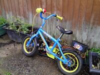 First bicycle for child - Raleigh. (And a couple of scooters)