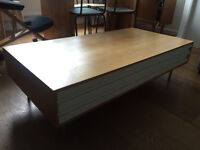 Stylish Coffee Table With Drawer