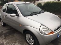 Silver 53/2004 Ford KA Excellent Condion