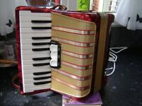 hohner 48 bass accordion great starter instrument
