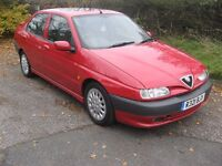 97-R ALFA 146 1.8 TWINSPARK 35K ONLY FULL SERVICE HISTORY HPI CLEAR