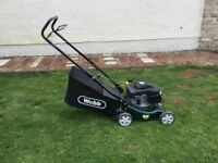 "Webb 16"" rotary lawn mower, nearly new"