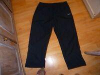 Blue Ladies Reebok trackie bottoms size 18