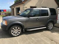 Late 2007 Landrover Discovery 3 TDV6 XS