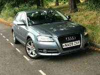 2009 Audi A3 1.9 TDI e Sport, **LOW MILEAGE/FullHistory/£30 year ROAD TAX**
