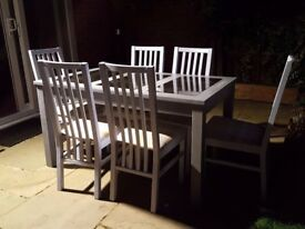Dining Table with Chairs - Good Condition