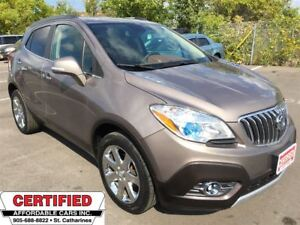 2014 Buick Encore ** AWD, NAV, HTD LEATH, BACKUP CAM **