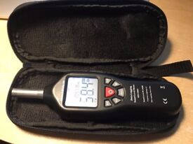 Max Measure MM-SM01: digital Sound Decibel Meter, 30-130dB, USB connection, softcase, backlit screen