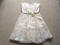 Stunning Phase 8 cream dress size 14