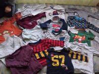 Clothes bundle 9-12 boy