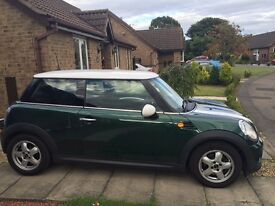 Green Mini One, 1.6, 3 door, Quick Sell needed, £3500 or best offer