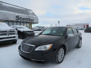 2013 Chrysler 200 LIMITED LOCAL TRADE! EXTENDED WARRANTY!!