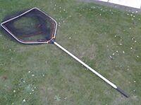 Savage Gear XL pike fishing extendable landing net