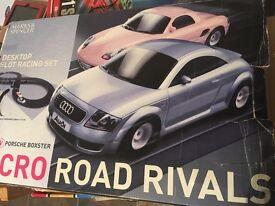 Marks & Spencer Desktop slot racing set Audi & Porsche
