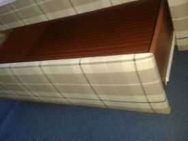 double 4'6'' divan bed with four draws