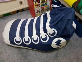 Boys sneaker beanbag baseball boot beanbag from next