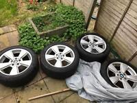 BMW X3 genuine alloys x 4