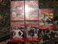 BOXING DVDS 37 BRAND NEW