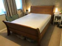King size sleigh bed for sale