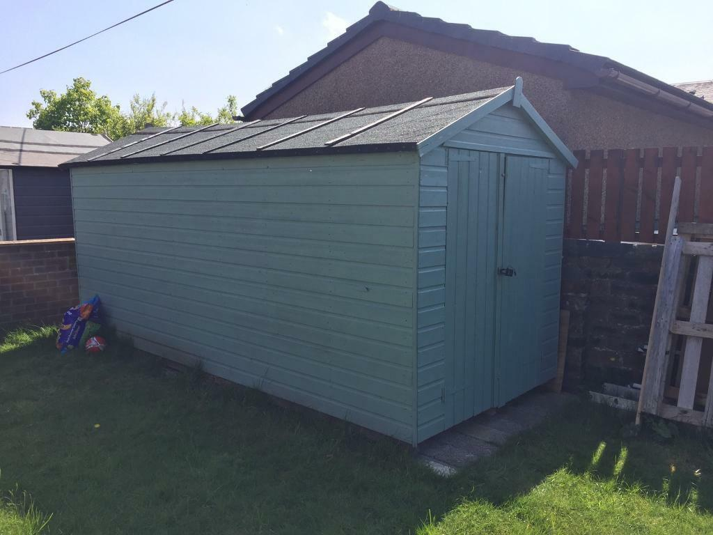 Garden Sheds Gumtree garden shed 14ft6ft7ft at tallest point | in dreghorn