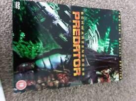 Predator 1-2 DVDs
