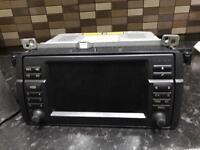 Bmw E46 Sat Nav widescreen